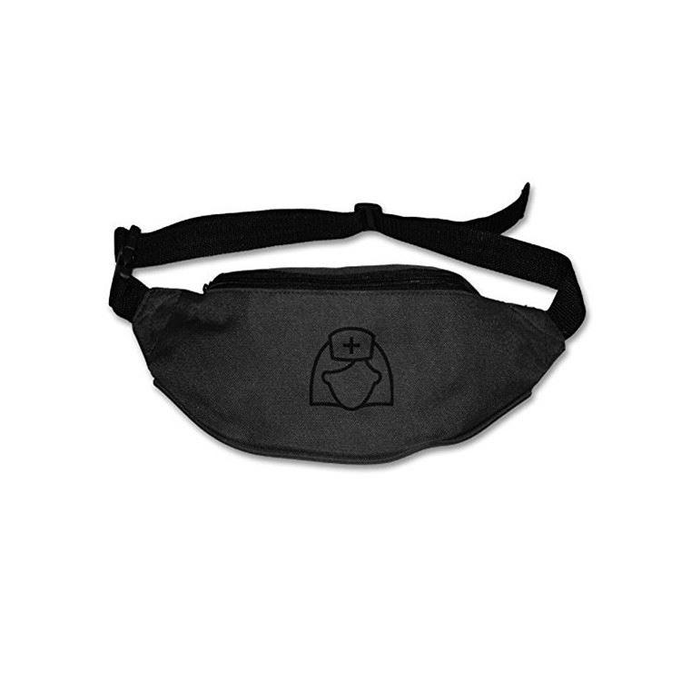 own brand design products 600D Oxford running waist belt pack bag for women leisure sports shopping anti-theft ladies fanny bag