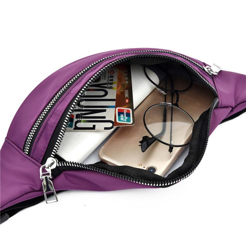 Women Waist Bag Men Fanny Pack Female Banana Bag Hip Bum Money Pouch Ladies Fashion Travel Shoulder Purse Belly Pocket