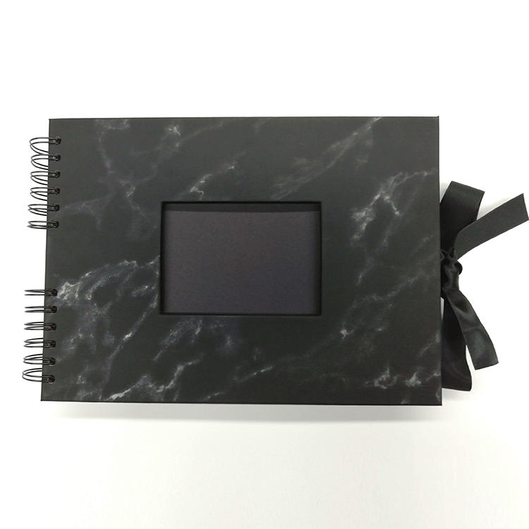 product-Cheap Price Kraft Loose Album Types Spiral Binding Photo Album To Design Your Own Scrapbook--2