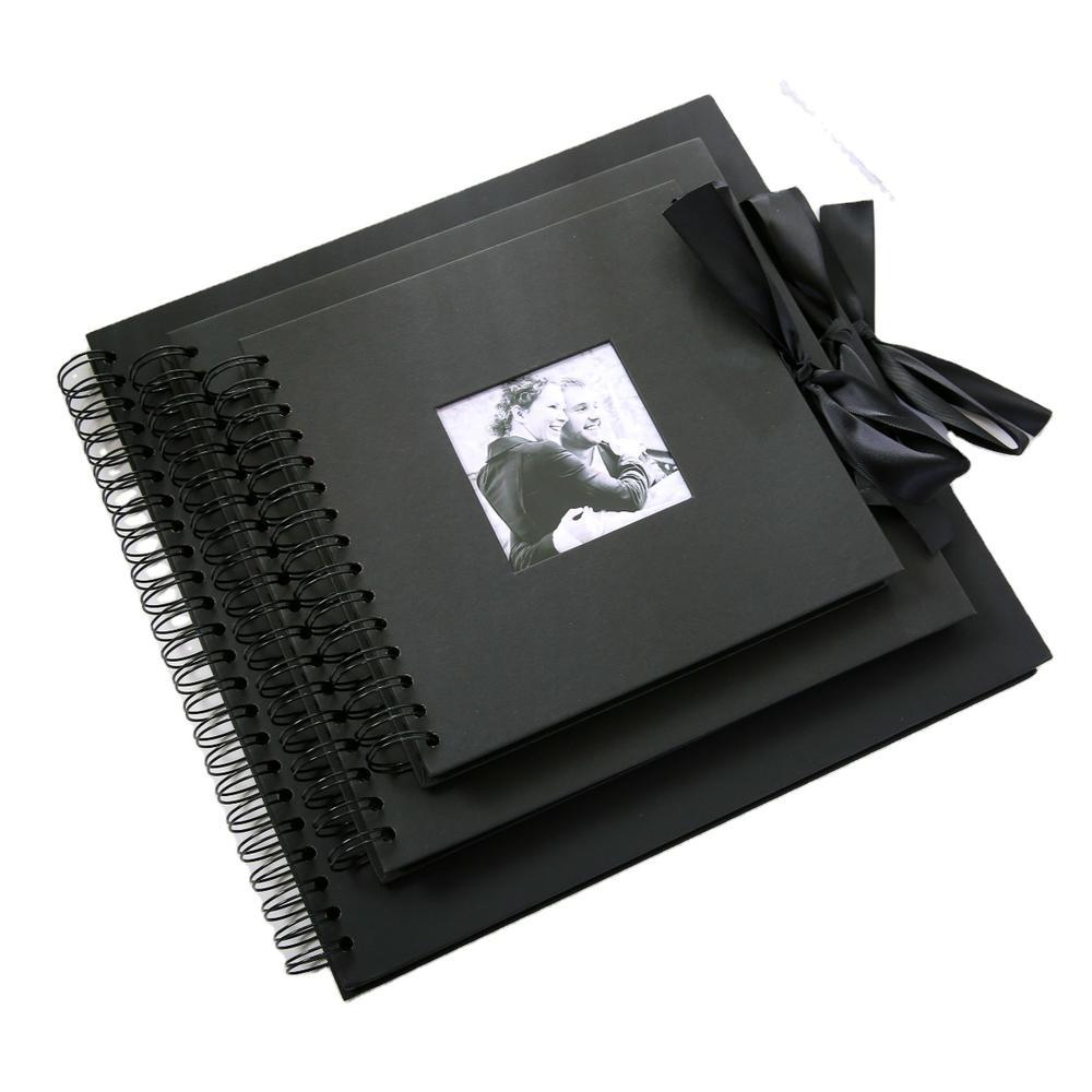 Custom Kraft Paper Mini Album Photo Traditional Avec Spiral Wedding Photo Albums For Sale