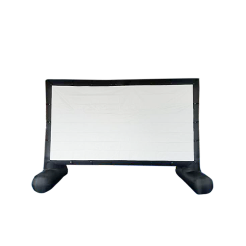 Inflatable Movie Screen Outdoor Movable air-tight Inflatable Portable Movie Viewing Screen Custom Play Movie Projection