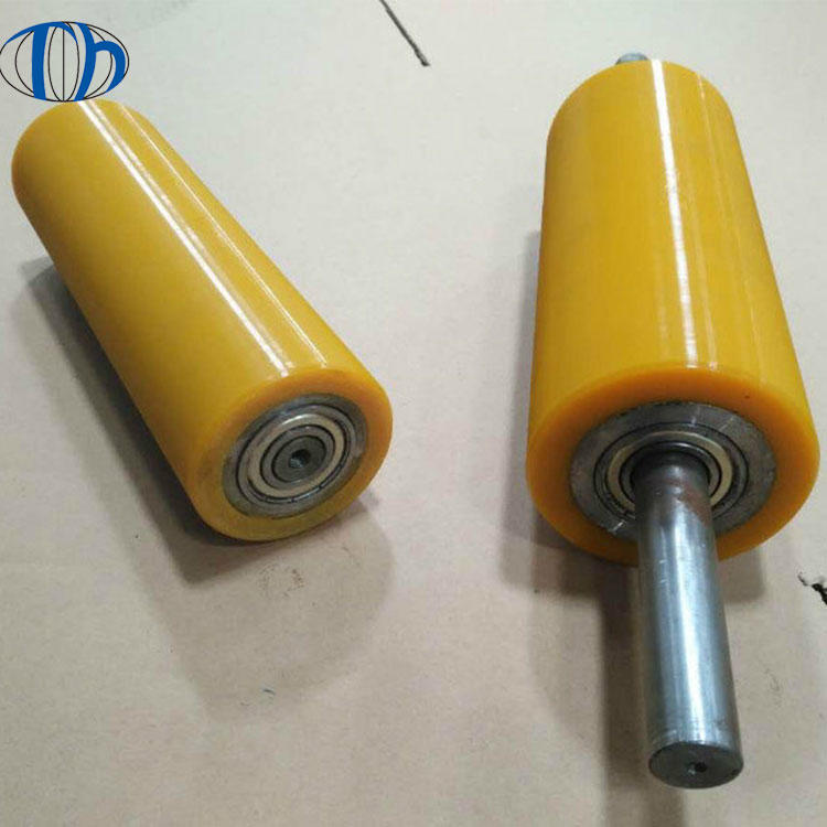 Custom competitive price rubber covered steel printing roller rubber rollers polyurethane