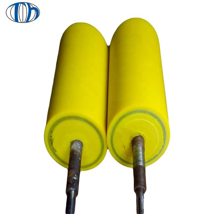 Excellent Tear resistance Polyurethane rubber roller polyurethane drive roller