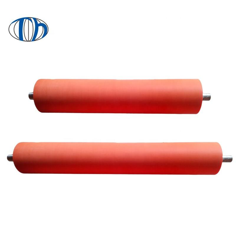 customized epdm high temperature polyurethane industrial rice vulcanized rubber roller