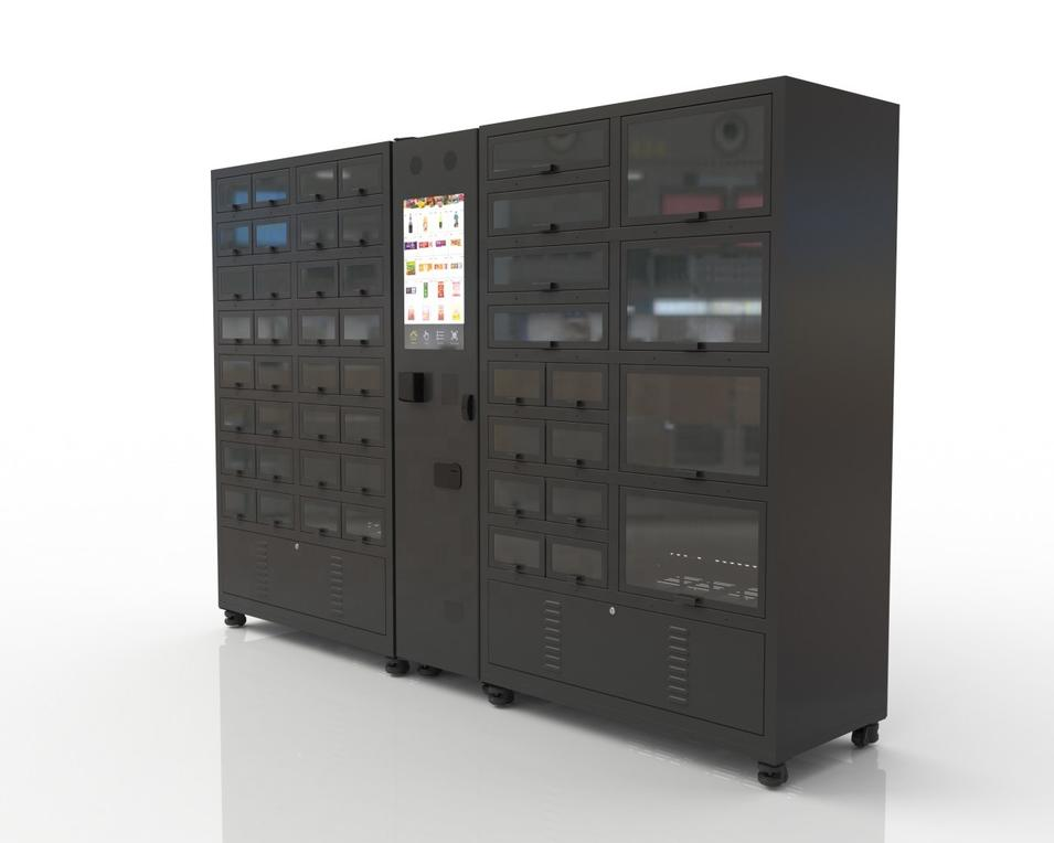 fresh cooling locker vending machine and refrigerate locker vending machine