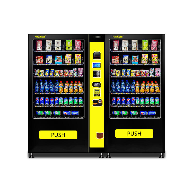 Self- Service Commercial Water Snack Drink Coffee Combination Drink Vending Custom Vending Machine