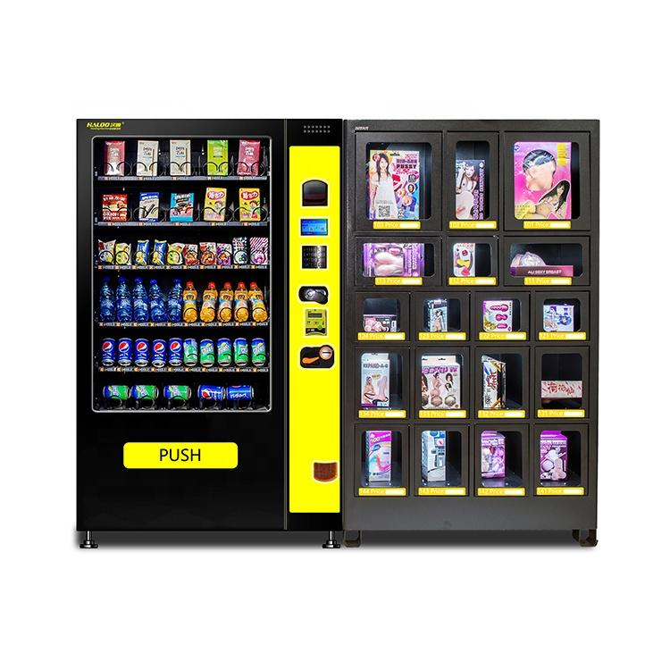 China Supply Best Quality Cheap Self-Service big capacity Combination Vending Machines For Sale