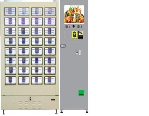 fresh cooling locker vending machine and refrigerate locker vending machine