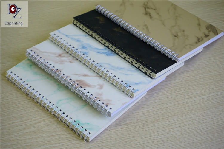 product-Dezheng-Spiral Notebook Customize Logo Blank Pages Custom Journal Notebook-img-1
