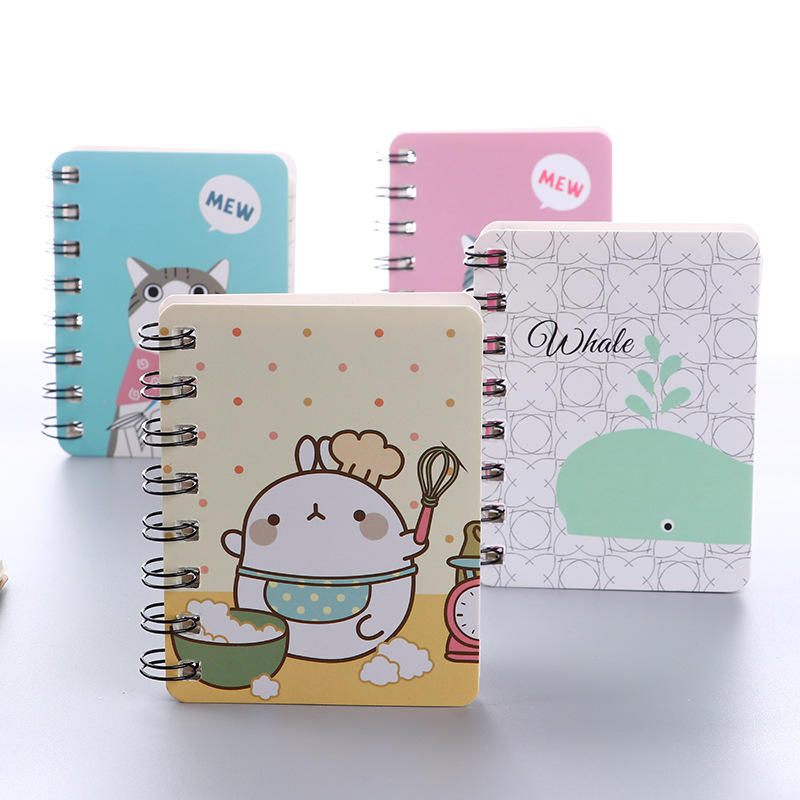 Custom Children's Notebook Black Girls Square Ruled Notepad Stationery Office Exercise Books