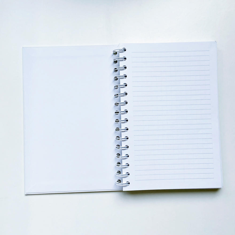 Eco Friendly PaperSpiral Notebook ,Spiral Hardcover Notebook with customized design