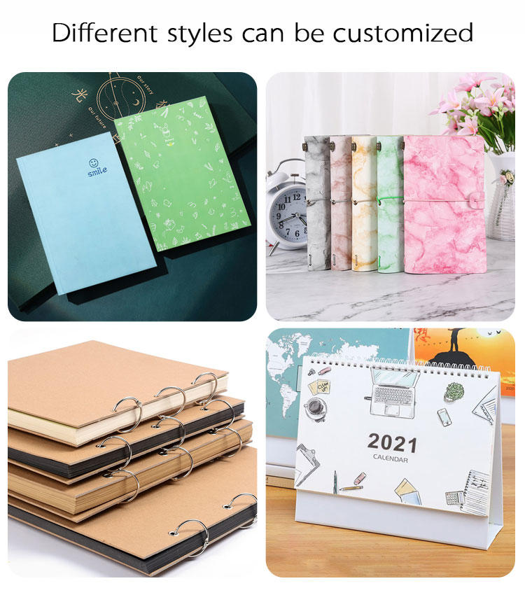 product-Dezheng-High quality cheap leather journal bullet spiral binding notebook customized refilla-1