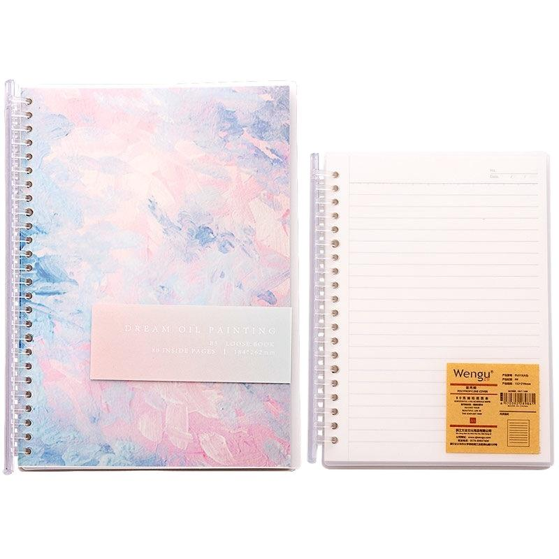 product-80 gsm Lined Notepads A4 School Spiral Notebook Children Coloring Books-Dezheng-img-1
