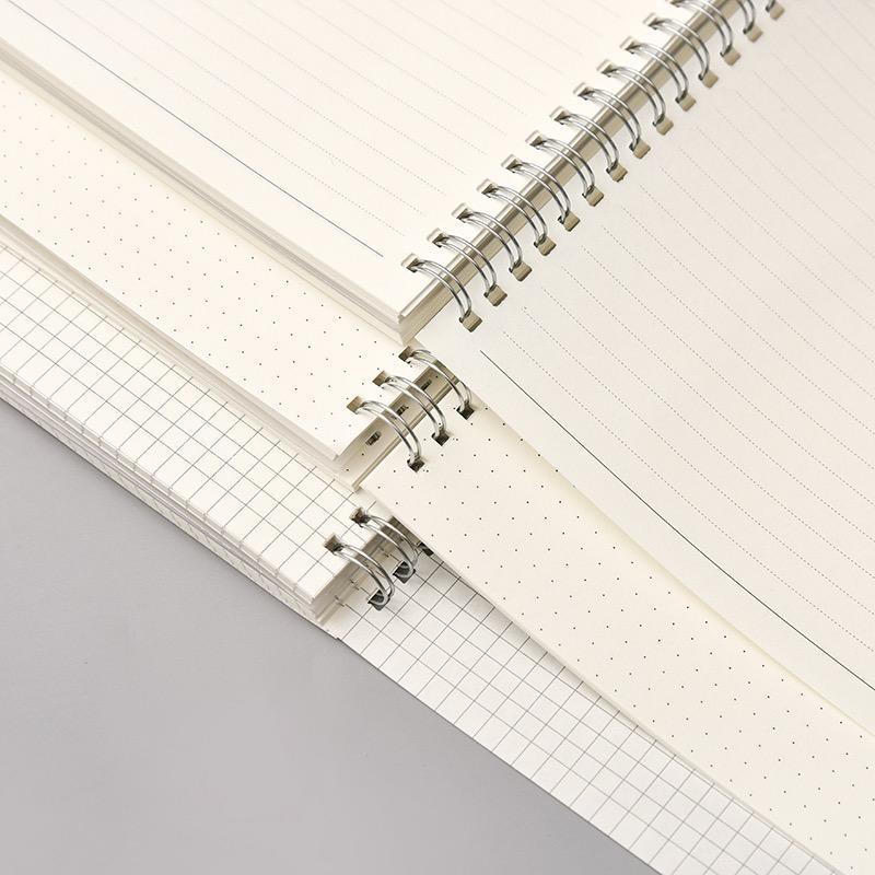 product-Dezheng-Custom Elastic Band Logo Plastic Cover Spiral Binding Notebook-img-1