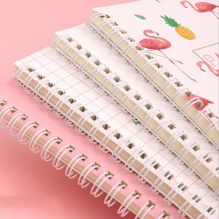 Wholesale Spiral Notebook Daily Planner Organizer Hardcover Journal With College Ruled