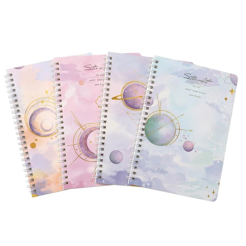 Discount Price Plastic SpiralBindingWriting Practice Book Reusable Lined Recycled Paper Notebook