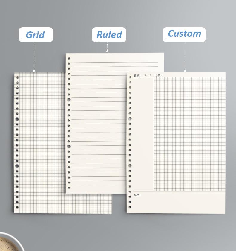 product-Dezheng-Black university school notebooks wholesale 5 subject notebooks for students-img-1