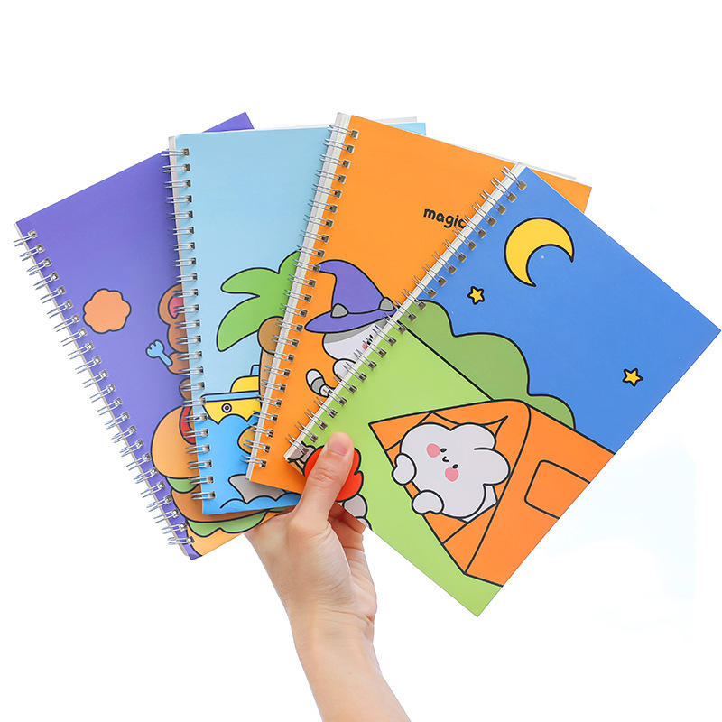 Custom Mini Water Proof Notepad School Exercise Book Production Notebook With Cartoon Character