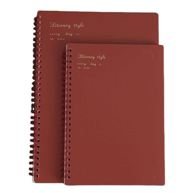 product-Cheap A5 Printing And Spiral Binding Other Promotional Business Gifts Exercise 200 Pages St-1