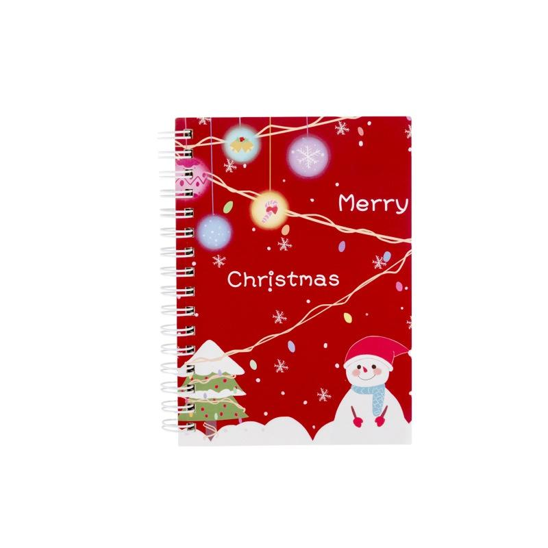 product-A5 Custom Kids ChristmasPlanners And Notebooks Spiral Binding Book-Dezheng-img-1