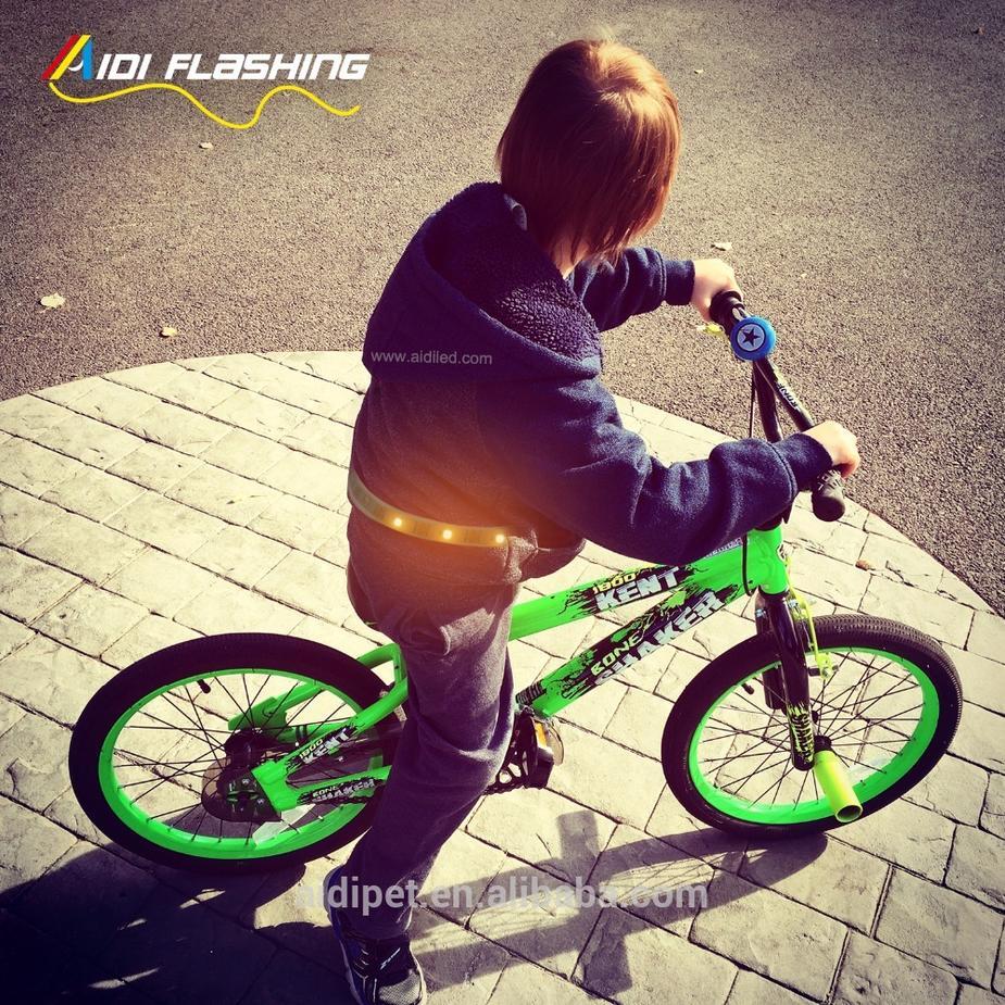 LED bike steering light Remote controlled safety bicycle light RGB Remote Controlled Waist Belt