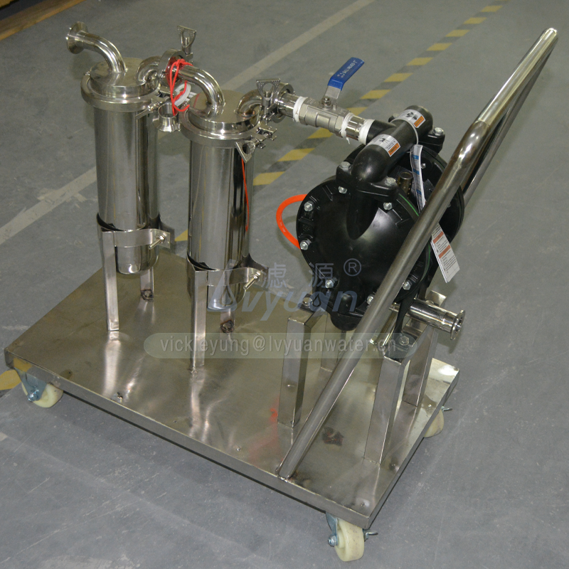 Completely oil filter system machine 1/2/3/4/5/6/7 stage stainless steel cartridge water filter housing with filter cartridge