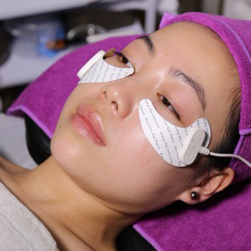 beauty salon use Microcurrent eye care massage machine