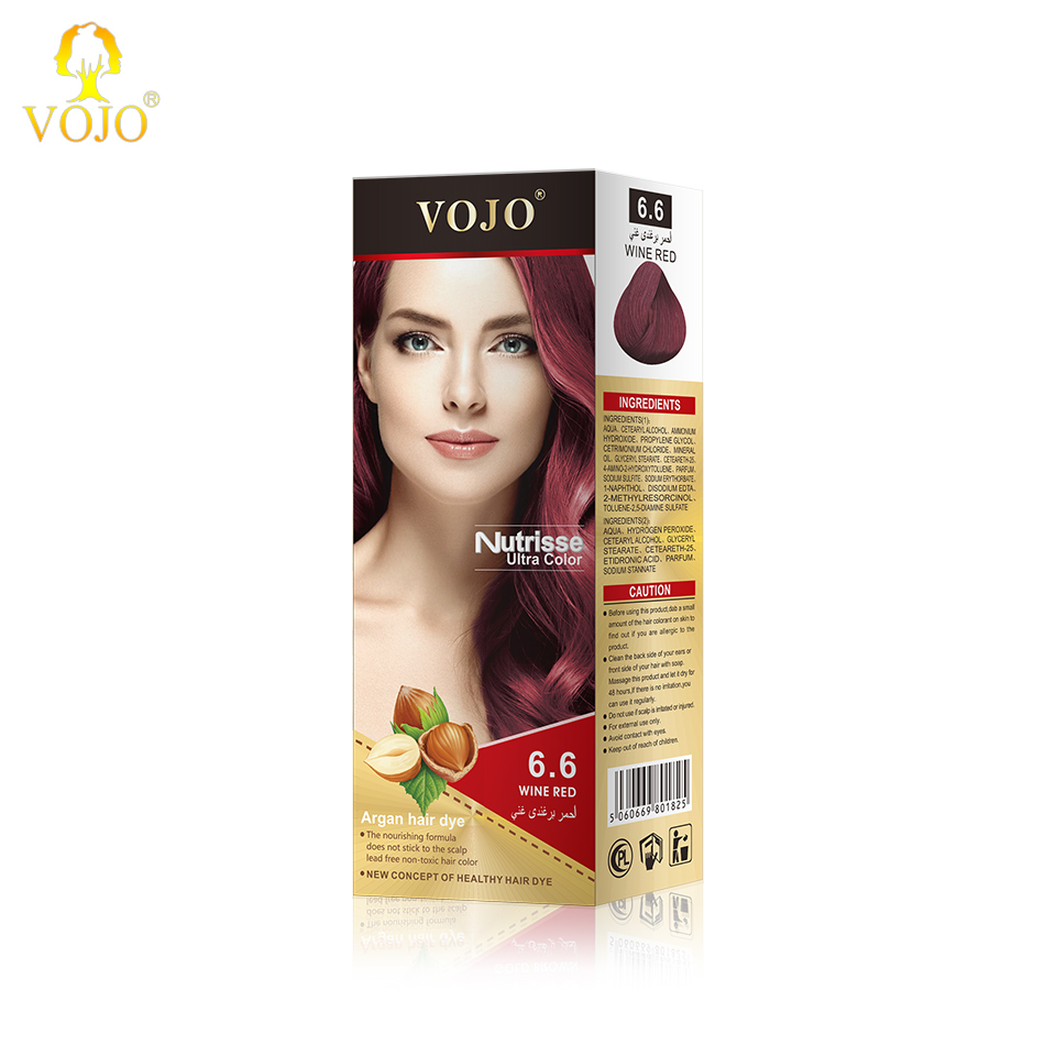 malaysian Hair color dye factory private label salon use permanent professional hair color cream