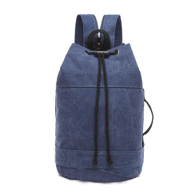 mochilas 2020 new Men's Bag Men's Backpack Men's Schoolbag Canvas Shoulder Fashion Couple Bucket Bag Women's Backpack Drawstring Pack