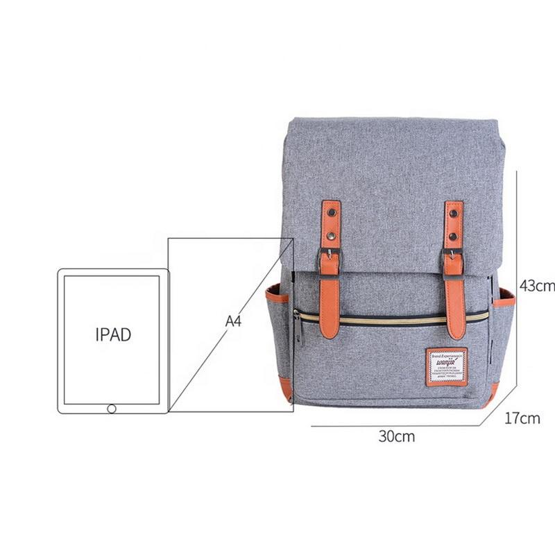 mochilas Medium Size Unisex laptop Backpacks girls boys Canvas fashion leisure large capacity anti theft backpack school student bags