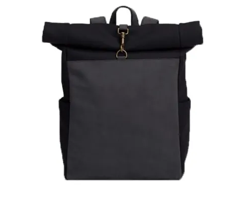 mochilas Fashion Waxed Canvas Travel Backpack Unisex Computer Bag Leisure Backpack