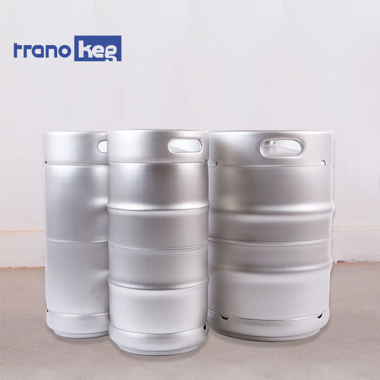 10L 15l slim 20l stainless steel growler wide mouthbeer keg with rubber ribbon