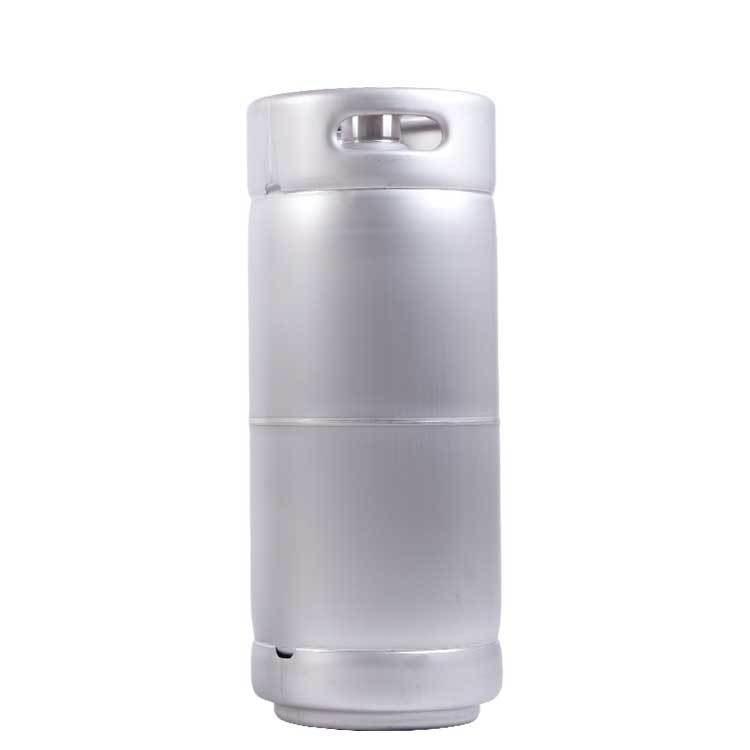 US 1/6 bbl accept small order keg 304 stainless steel beer barrel