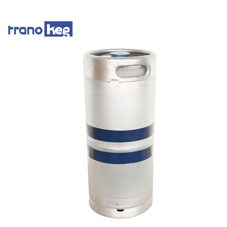 Qualified Food grade AISI 304 stainless steel container drum US 20L beer keg 1/6 bbl barrel