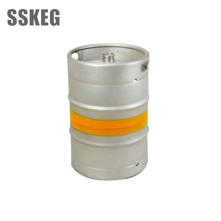 Quality-assured 1\/2 capacity beer barrel