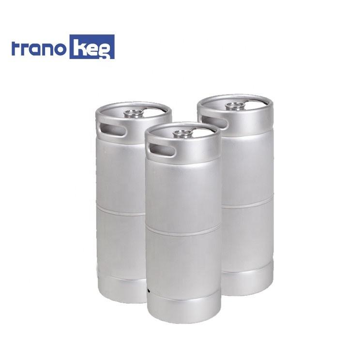 Stainless steel beer keg slim 20l beer drums US 1/6 capacity beer barrel