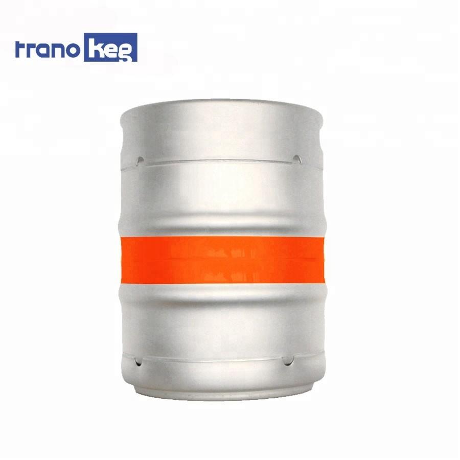 wholesale imports 1/2 barrel stainless steel beer keg 60L half barrels for sale