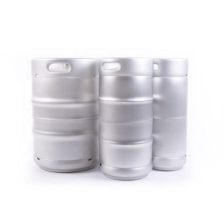 American 1/6, 1/4, 1/2 empty barrel stainless steel AISI 304 drum keg wine beer barrel