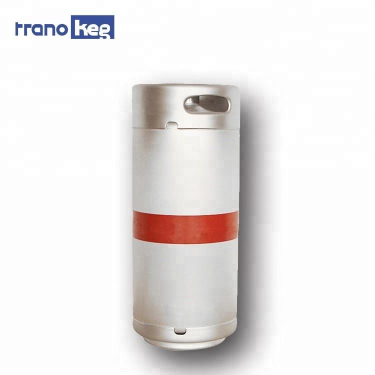 Stainless steel mini beer keg US Slim1/6 barrel 20l keg