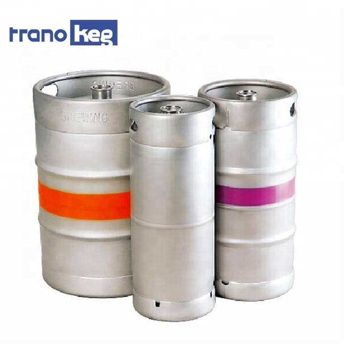 American Standard 1/4 1bbl Stainless Steel New Slim Beer Keg 5.16 Gallons 10l Container