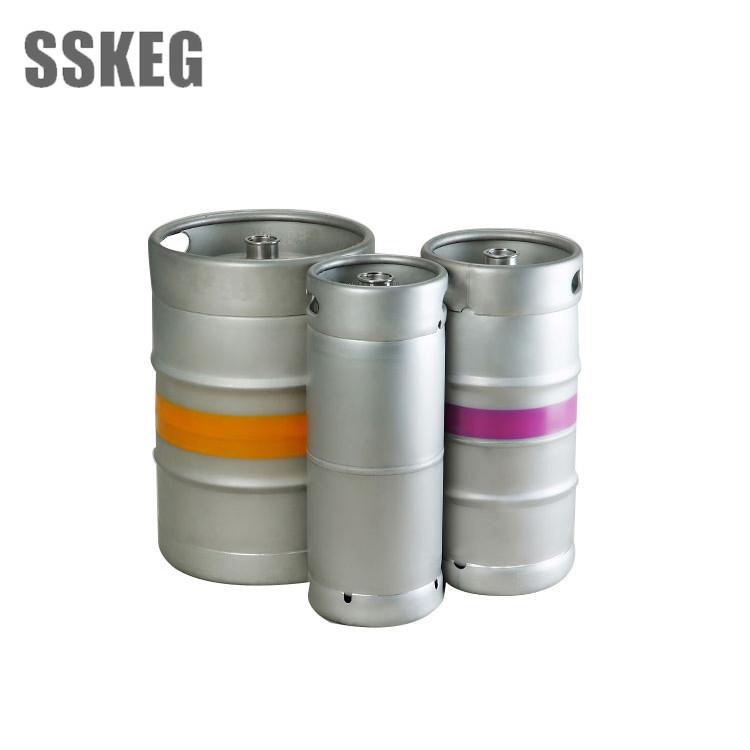 America 1/2 1/4 1/6 Stainless Steel Milk Keg