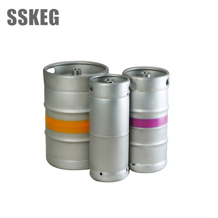 Food Grade 304 Stainless 1/6 1/2 1/4 beer keg