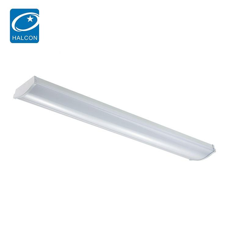 Best quality plastic 2ft 4ft 5ft 6ft 20 30 40 60 80 watt linear led batten strip light