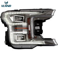VLAND factory for Fordd F150 Head light with full LED for F150Front Lamp 2017 2018 2019 with LED Sequential indicator