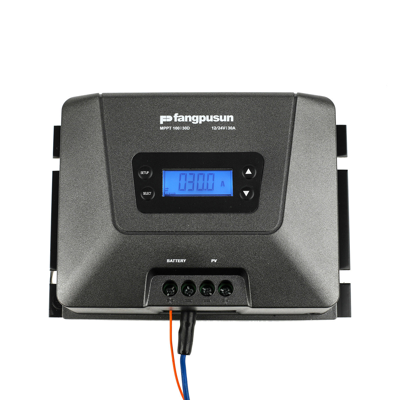 30A MPPT Solar Charge Controller 100V MPPT100/30d