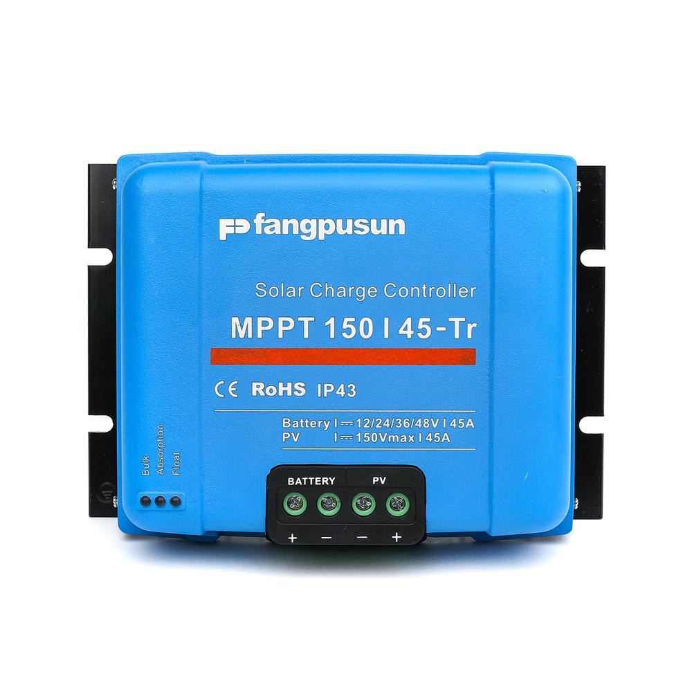 2600W Solar Panel System Fangpusun MPPT150/45 Solar Controller 12V 24V 36V 48V MPPT