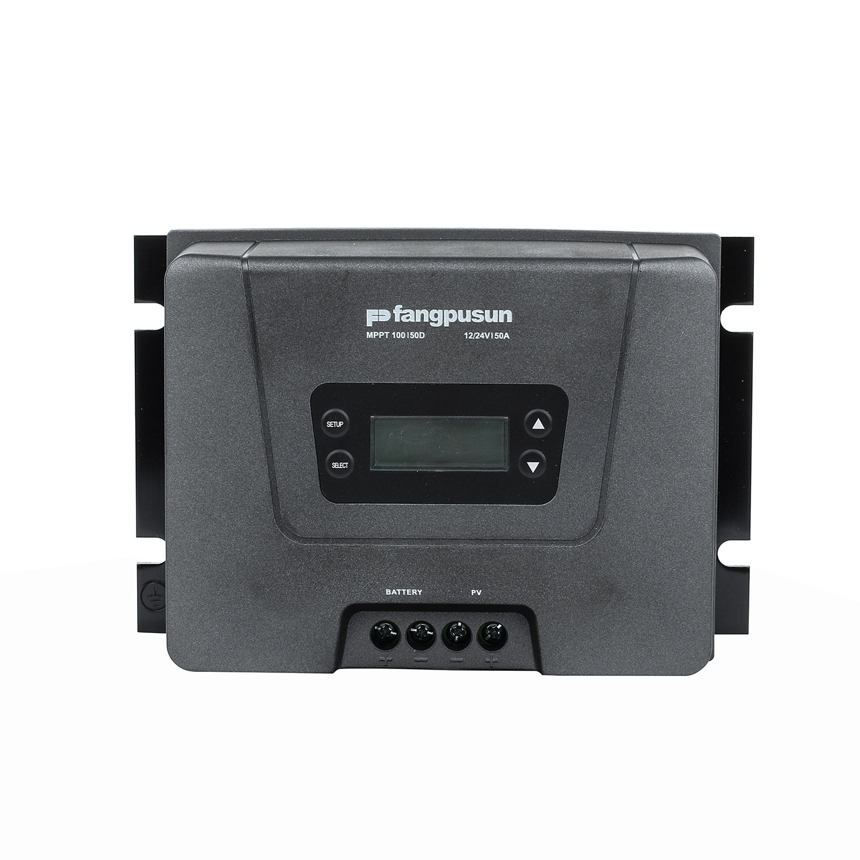 Fangpusun LCD Display MPPT 50A Solar Charge Controller 12V 24V