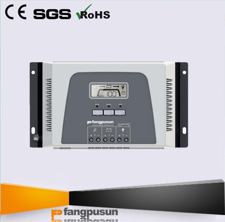 Fangpusun LCD Display 30A MPPT Solar Battery Charge Regulator 12V 24V
