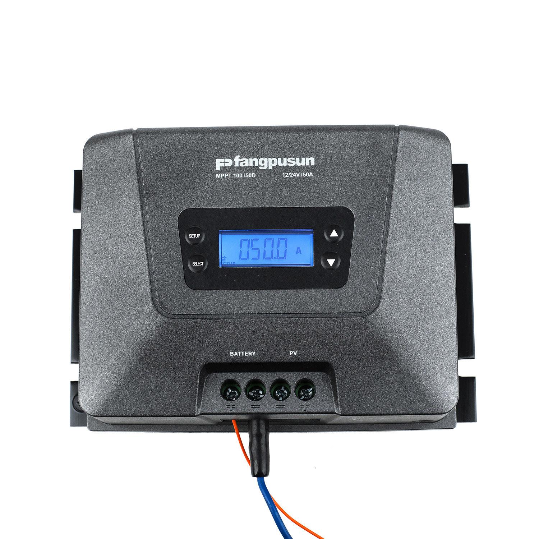 Fangpusun MPPT100/50d 12V 24V MPPT Solar Charge Controller 50A