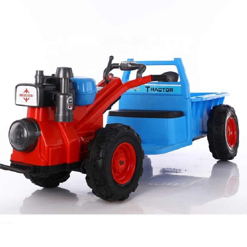 kids remote control excavator kids ride on car